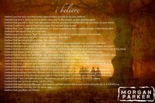 believe poem