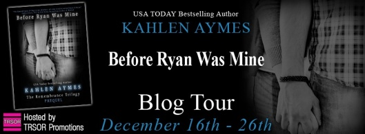 Before Ryan Was Mine-blog tour